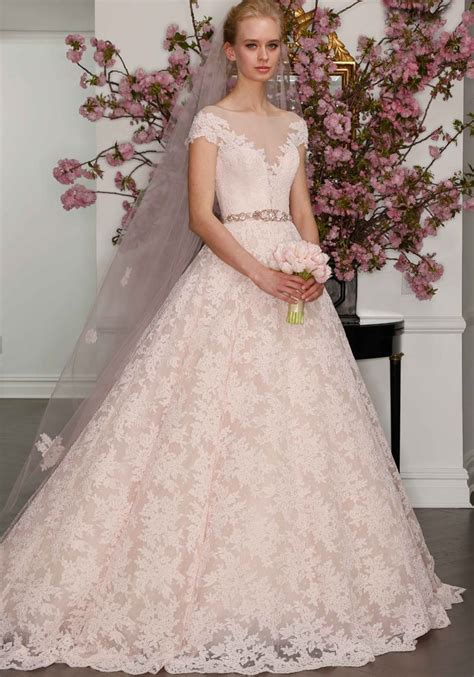 Wedding Gown 2017 by 2017 Wedding Dress Trend You Need To About Pastels