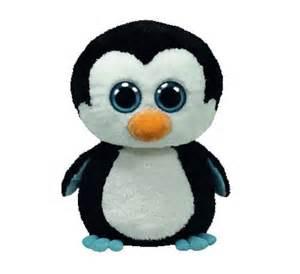 ty waddles penguin pingvin bamse 248 billigt