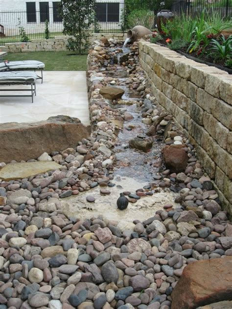 how to build a stream in your backyard our backyard renovations our backyard stream