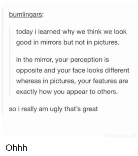 Why Do The Opposite Sexes Think Differently by 25 Best Memes About The Mirror The Mirror Memes