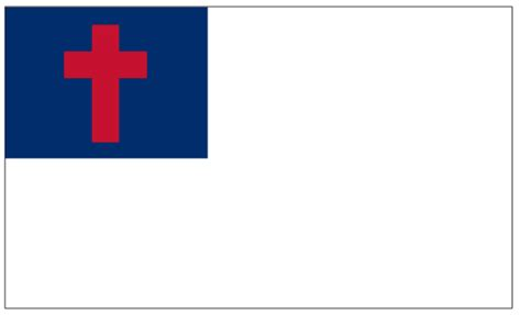 christian flag images what is the christian flag and what does it symbolize