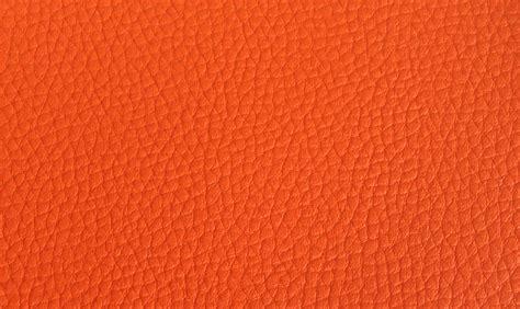 Orange Leather by Image Gallery Orange Leather