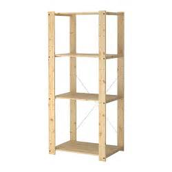 ikea wood gorm shelving unit 30 3 4x21 5 8x68 1 2 quot ikea