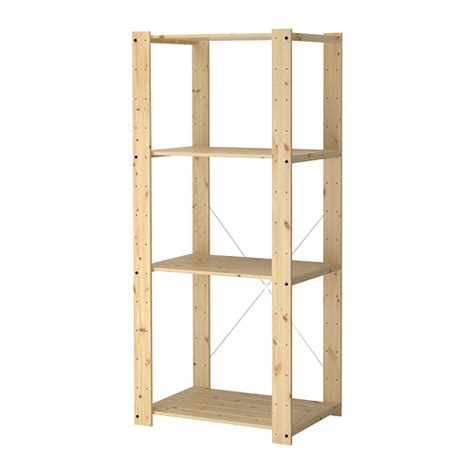 Gorm Shelving Unit 30 3 4x21 5 8x68 1 2 Quot Ikea Ikea Wood Shelves