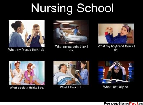Nursing Finals Meme - nursing school what people think i do what i really