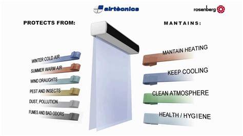 what is an air curtain airtecnics air curtains manufacturer what is an air
