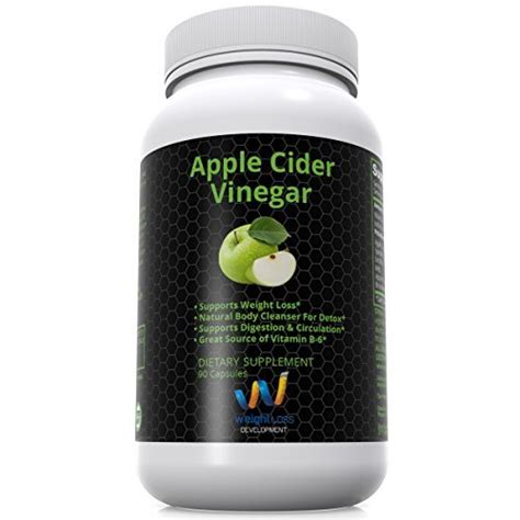 Vinegar Detox Diet Reviews by Weight Loss Development Apple Cider Vinegar Pills
