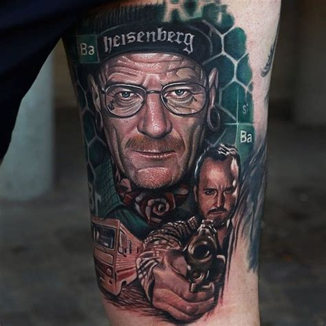 breaking bad tattoos breaking bad by dongkyu intenze ink