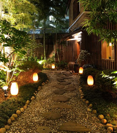 Outside Landscape Lights Illuminating Your Path Using Landscape Lighting To Define Outdoor Spaces