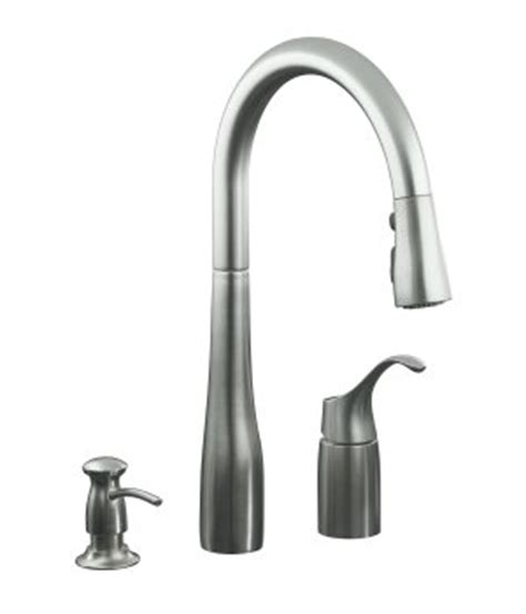 how to disconnect kitchen faucet how to remove handle from kohler k r648 single control
