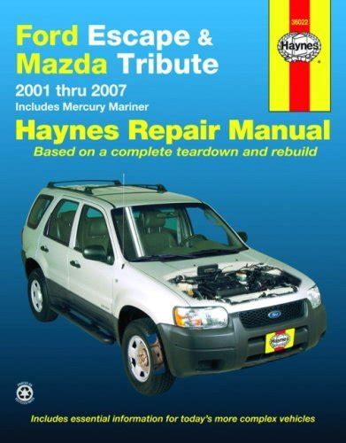 online service manuals 2001 mazda tribute parental controls haynes publications inc 36022 repair manual autopartsway com