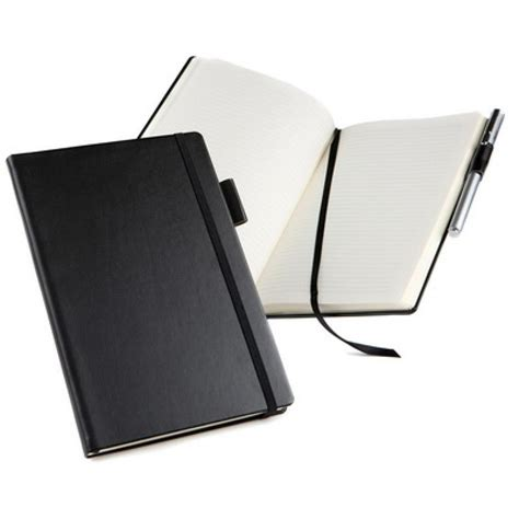 Branded Executive Notebooks Promo Offer By Brand - a5 casebound notebook journal belluno leather look top
