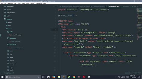 sublime text 3 dreamweaver theme sublime text themes best sublime text themes to use in 2018