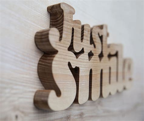 wooden words home decor items similar to just smile wooden words decorative wood