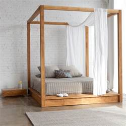 Bed Canopy Uk 20 Modern Canopy Bed Ideas For Your Bedroom