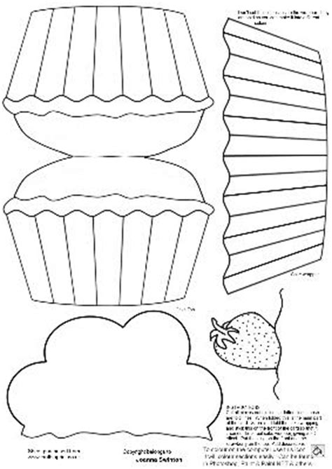 cupcake shaped card template cup73680 470 craftsuprint