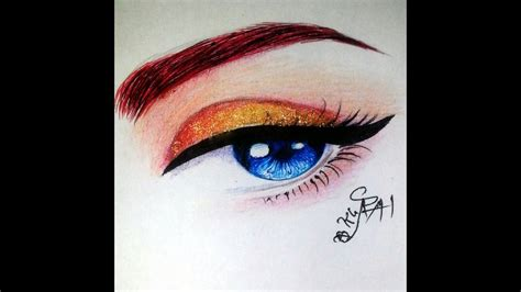 drawing eye tutorial   draw evil anime eyes youtube