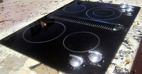 jenn air radiant cooktop the cupboard jenn air radiant downdraft cooktop anyone