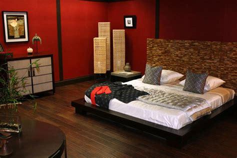 stupende camere da letto  design zen asiatico