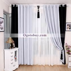 Black and white curtains photo album best home design