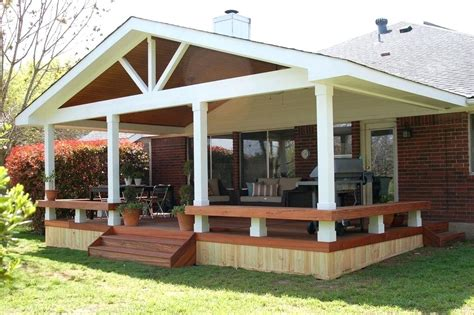 covered deck ideas covered wood deck design covered deck