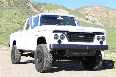 icon 4x4 d200 icon d200 1965 dodge d200 power wagon ram