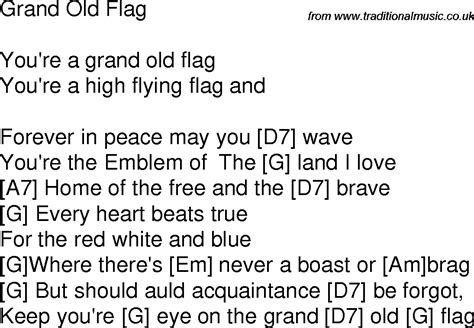 flags of the world lyrics grand old flag lyricsworld of flags world of flags