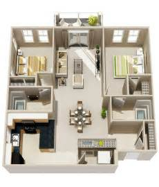 small two bedroom two bath house plans myideasbedroom com adu small house plan 2 bedroom 2 bathroom 1 car garage