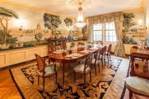 Dining Room Murals by Park Avenue Apartment Shocks With Stunning Wall Mural