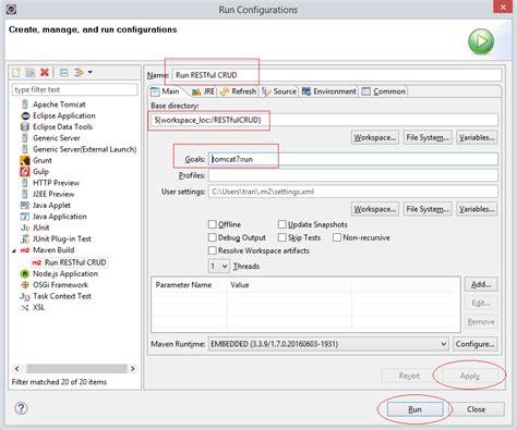 tutorial java crud simple crud exle with java restful web service