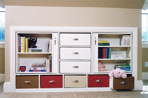 Knee Wall Storage Drawers by Knee Walls Cabinets And Storage On