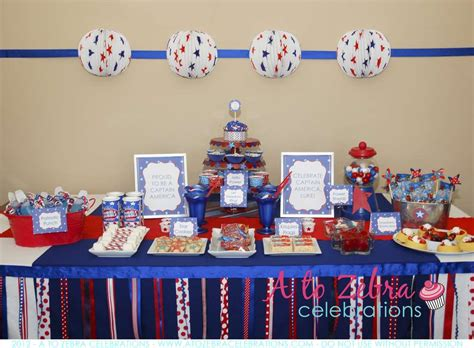 america themed party quotes 4th of july party captain america birthday party ideas
