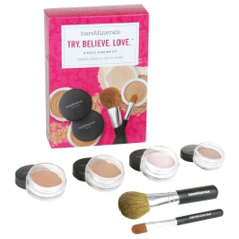 Bare Minerals Starter Kit bare escentuals try believe starter kit light 6