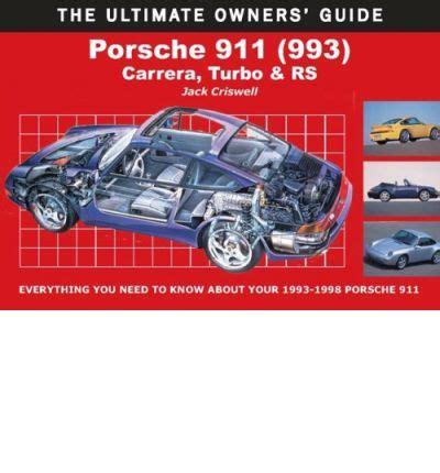automotive service manuals 1998 porsche 911 user handbook porsche 911 993 sagin workshop car manuals repair books information australia integracar