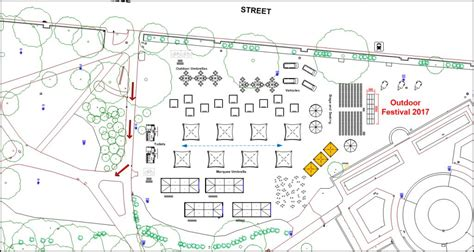 outdoor event layout software scaled site maps create outdoor scaled event plans