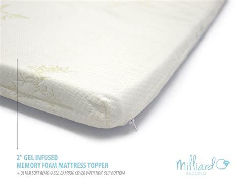 memory foam baby mattress bamboo memory foam mattress gel infused memory foam mattress topper bamboo cover