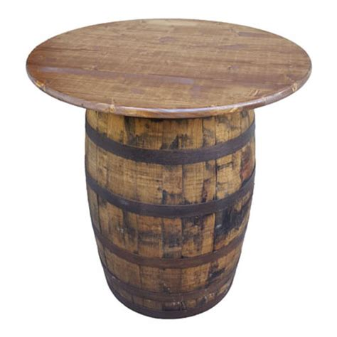 Tables Table Whiskey Barrel36 Quot Round Whiskey Barrel Tables