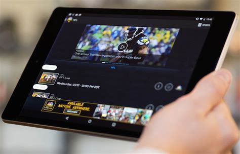 nbc app for android nbc app allows live for some android users