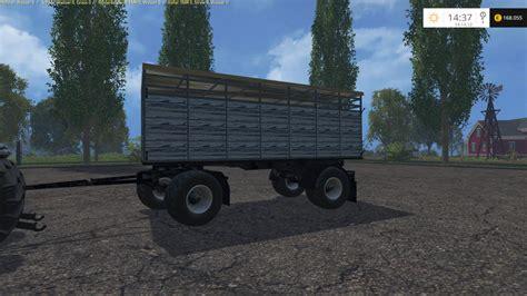 hw animal trailer v 2 0 mod farming simulator 2015 15 mod