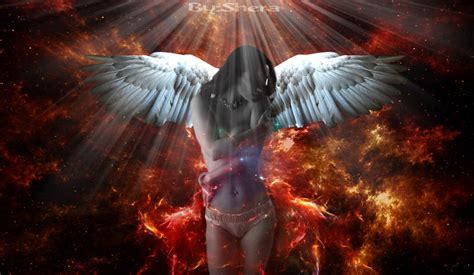 fire angel by serooon1 on deviantart