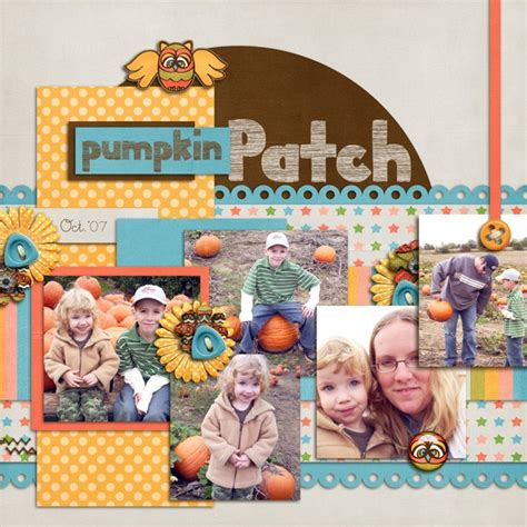 Scrapbook Layout Ideas For Lots Of Pictures | 65 best images about thanksgiving scrapbooking layouts on