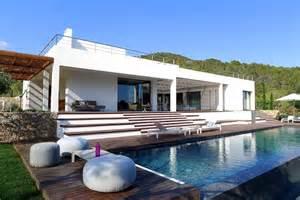 Modern Patio Design magnifique villa de r 234 ve 224 l architecture contemporaine