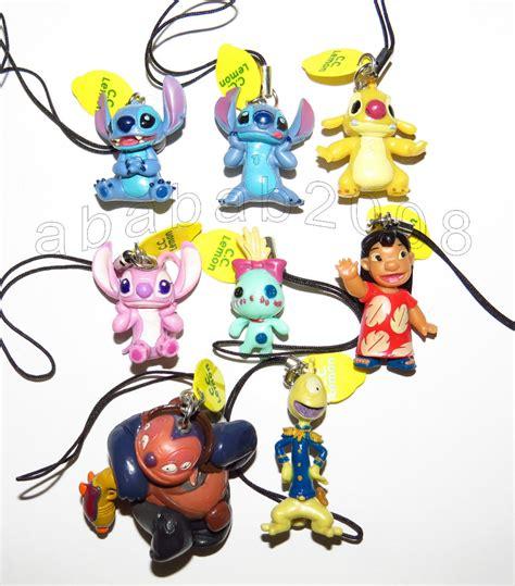 Figure Lilo And Stitch Isi 8 Pcs 1 dlife cc lemon lilo stitch keychain figure set of 8 figures ebay