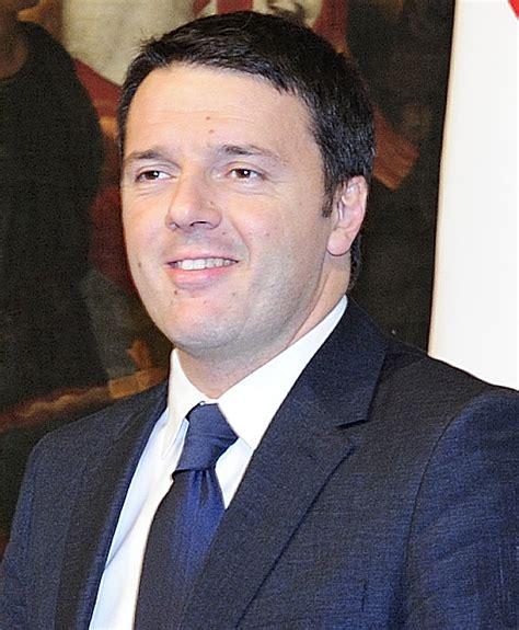 attuale presidente consiglio dei ministri topic matteo renzi les echos