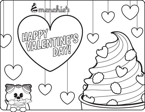 frozen yogurt coloring pages menchies coloring pages www imgkid the image kid