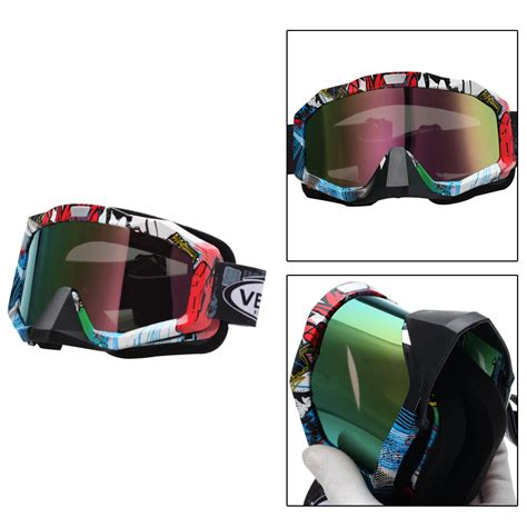 tinted motocross goggles mx bmx tinted lens motocross mtb off road dirt bike