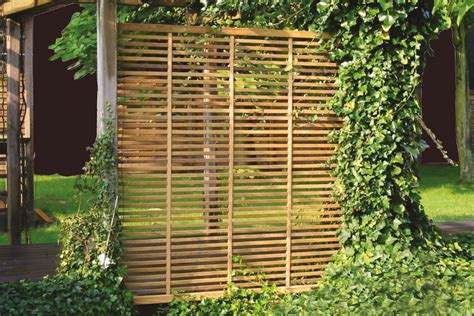 paravento da giardino divisori in legno da giardino paravento frangisole separ 233