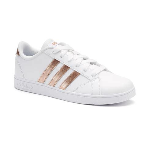 Adidas Baseline White Black Gold adidas neo baseline kid s shoes