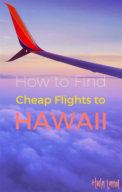 how to find cheap flights to hawaii booking cheap hawaii airfare