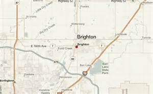 where is brighton colorado on map brighton colorado location guide